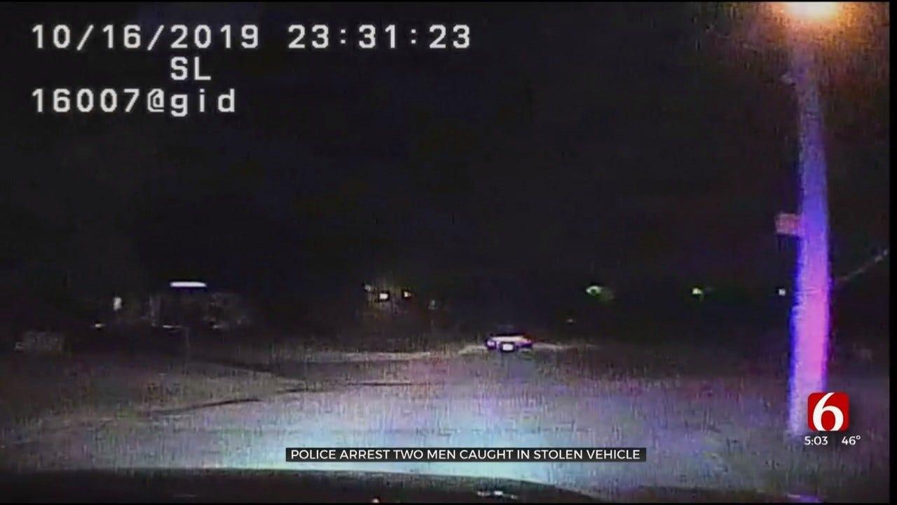 Tulsa Police Video Shows 2 Men Arrested After Pursuit