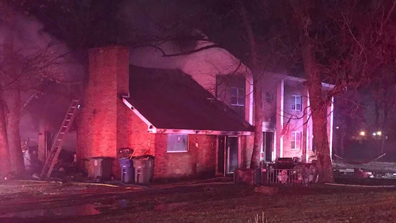 Family Of 9 Escapes Tulsa House Fire Because Of Pet Dog