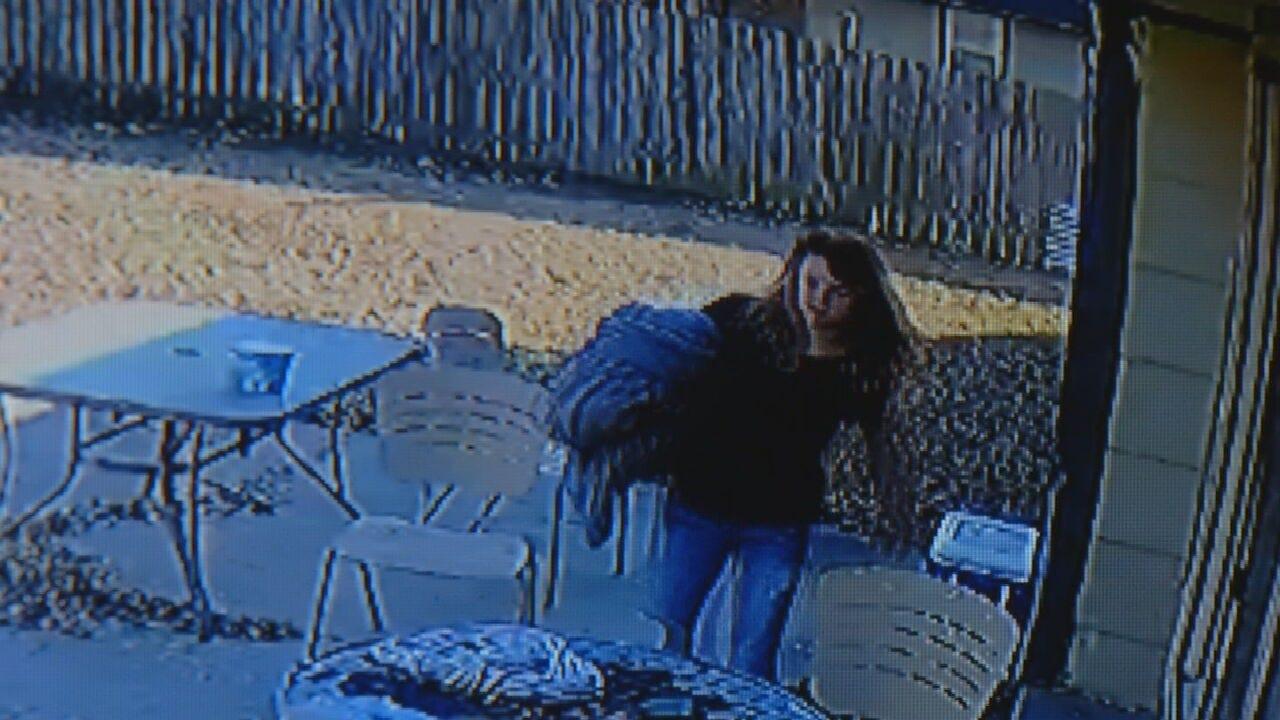 CAUGHT ON CAMERA: Woman Breaks Into Tulsa Home