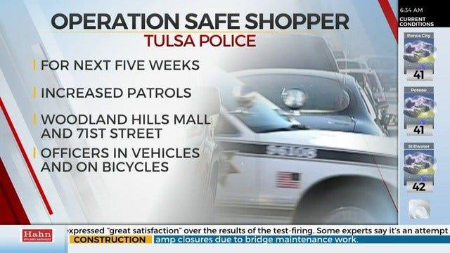 Tulsa Police Start Operation Safe Shopper For The Holiday Season