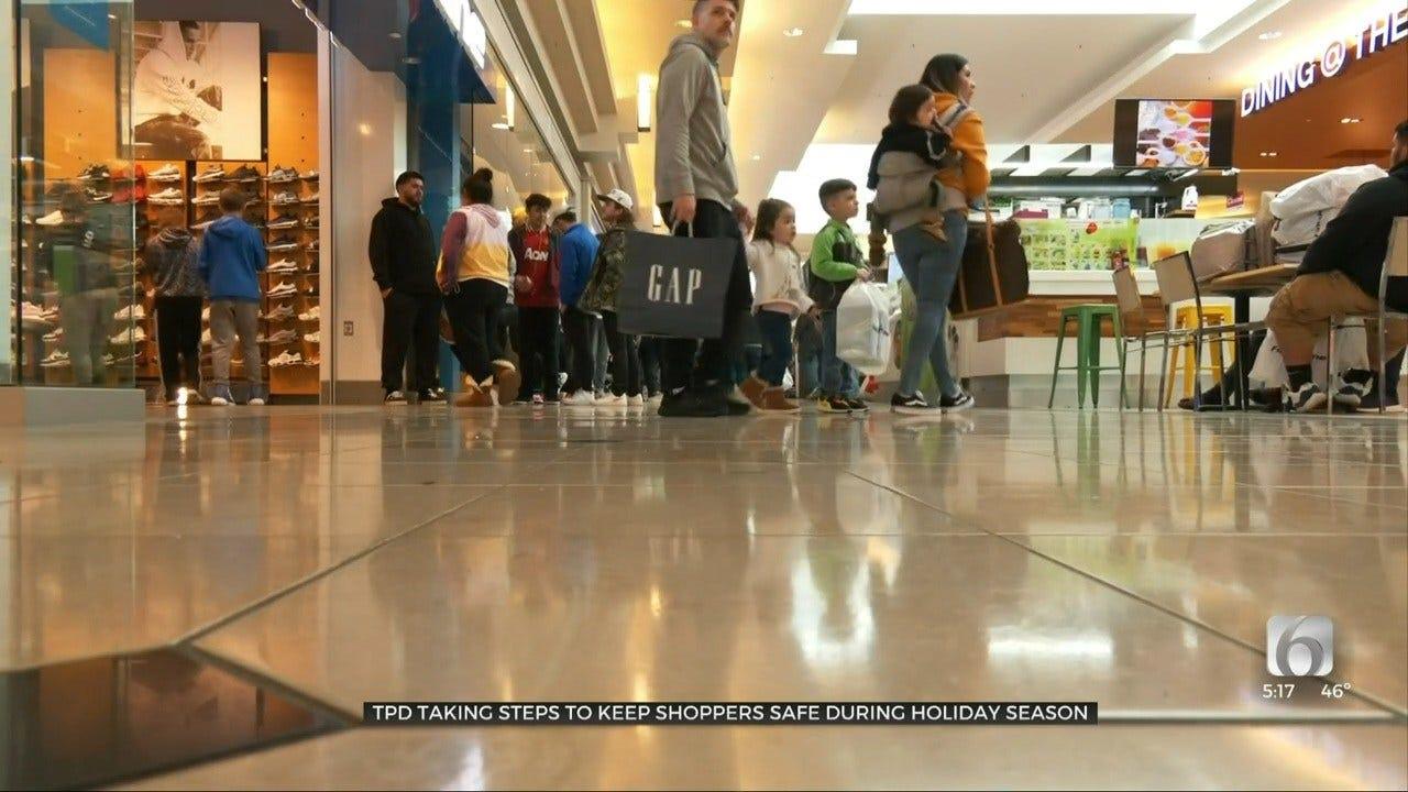 Tulsa Police Use 'Operation Safe Shopper' For Holiday Safety