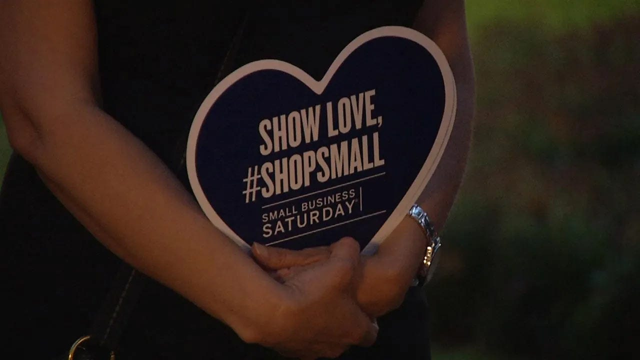 Small Business Saturday Begins In Tulsa