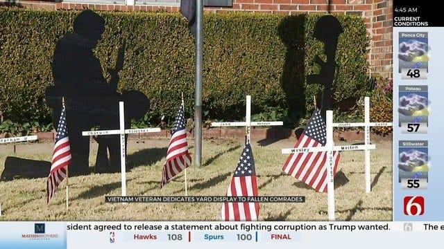 Broken Arrow Veteran Honors Fallen Comrades