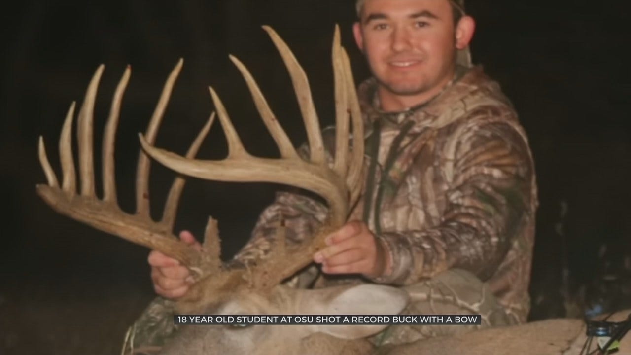 The Big One: 18-Year-Old Oklahoman Talks About Possible State Record Whitetail