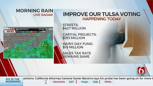 Tulsans To Vote 'On Improve Our Tulsa' Capital Improvements Package