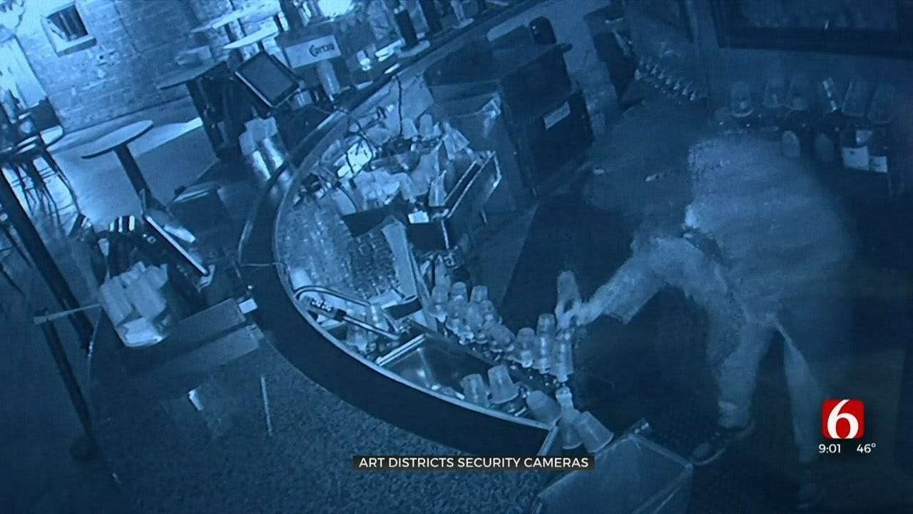 Cameras Providing Safety For Parts Of Downtown Tulsa