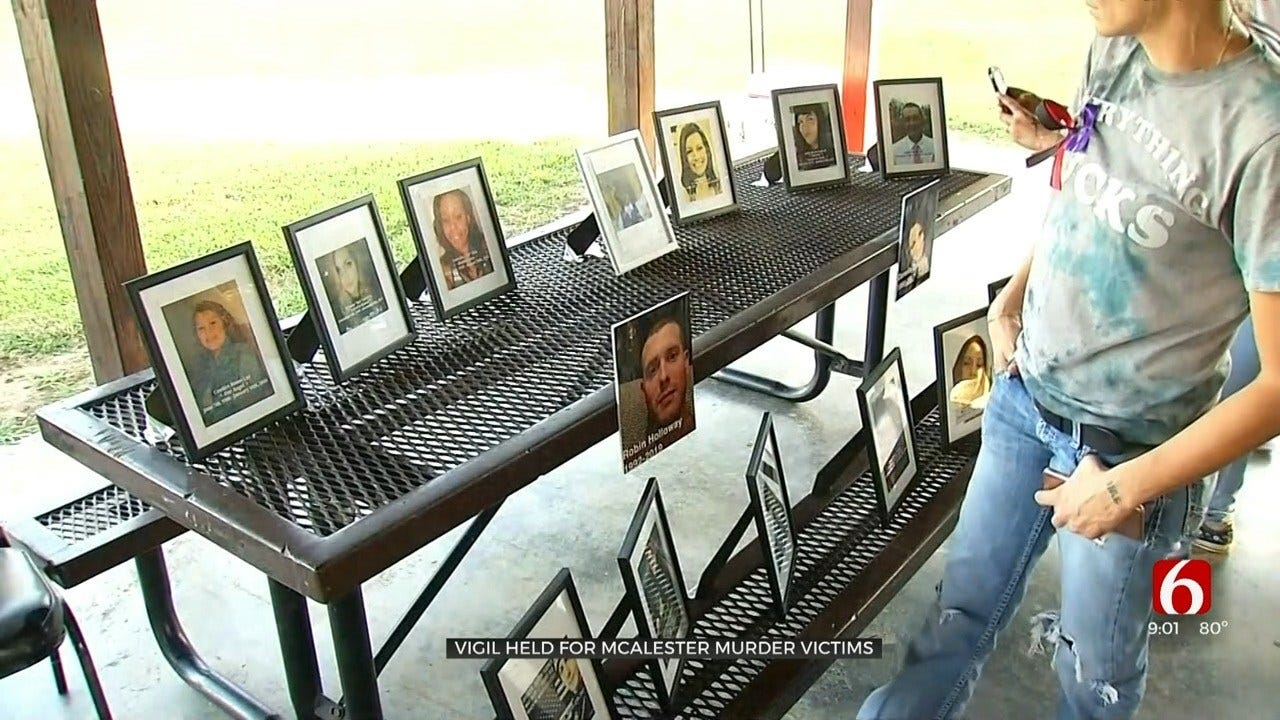 Families Attend McAlester Vigil For Murder Victims