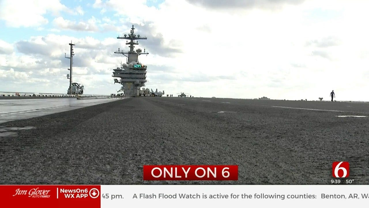 Rare Behind The Scenes Look At The Jobs Of Oklahomans Serving In The Navy