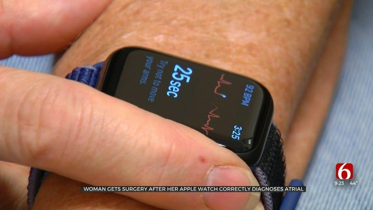 Oklahoma Woman's Apple Watch Predicted Irregular Heartbeat