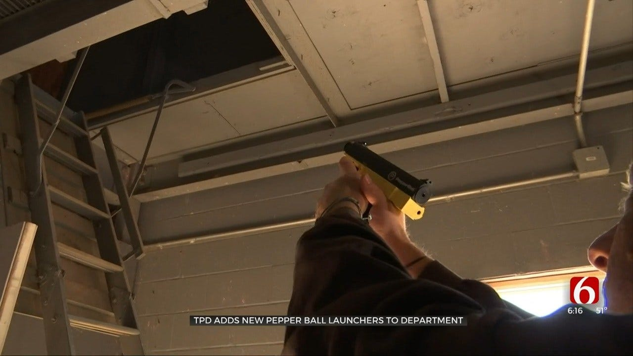Tulsa Police Adds New Non-Lethal Weapon To Arsenal