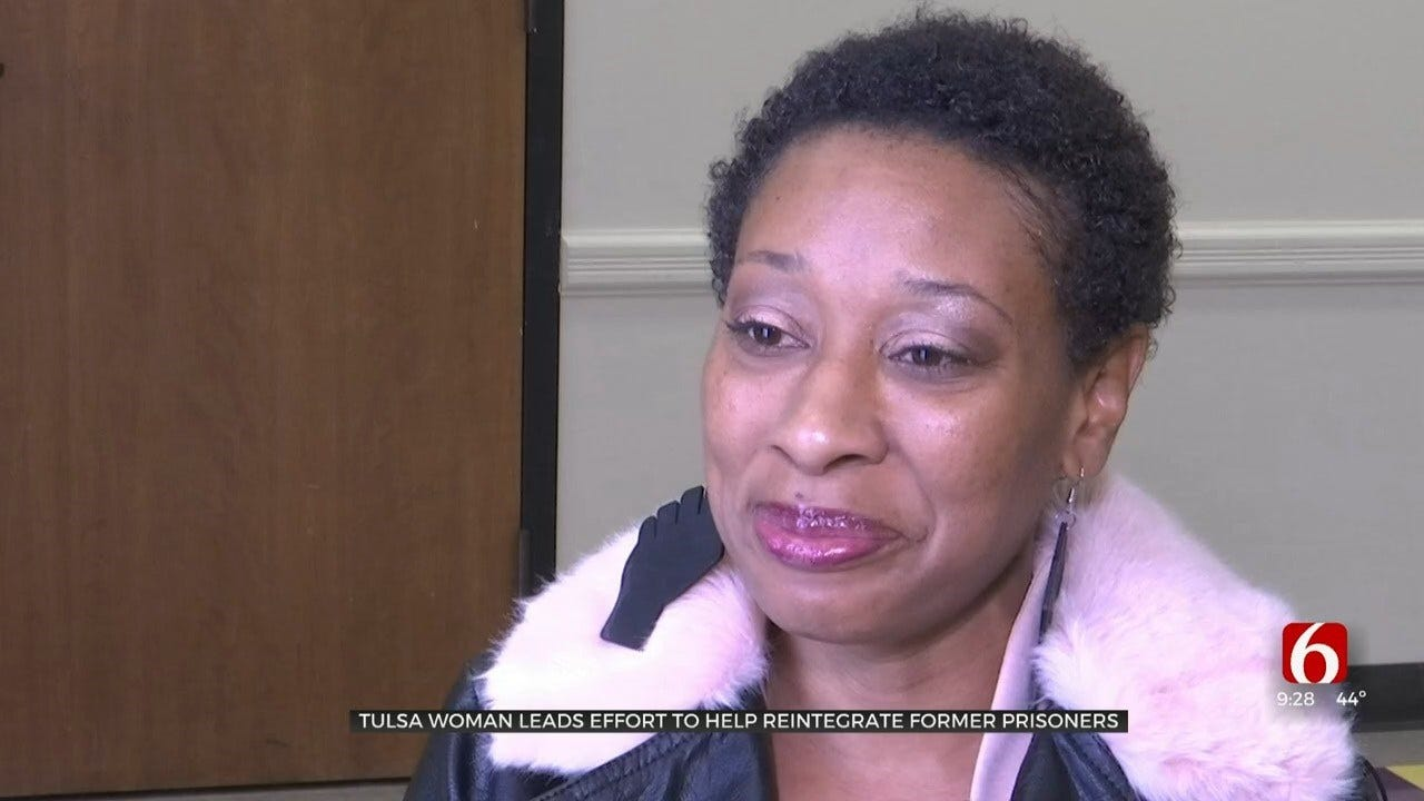Tulsa Woman Helps Lead Effort To Reintegrate Former Prisoners