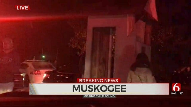 Authorities Locate Missing Boy At Castle Of Muskogee