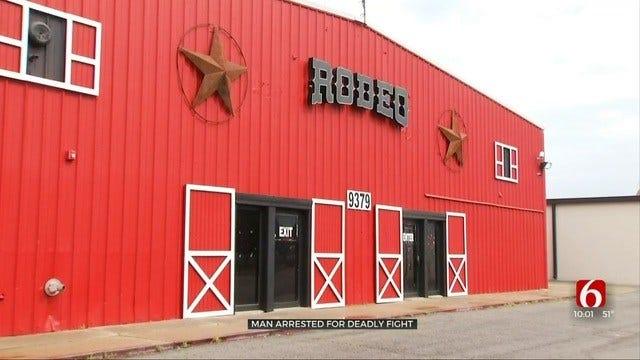 Woman Witnesses Fatal Punch Outside Tulsa Bar