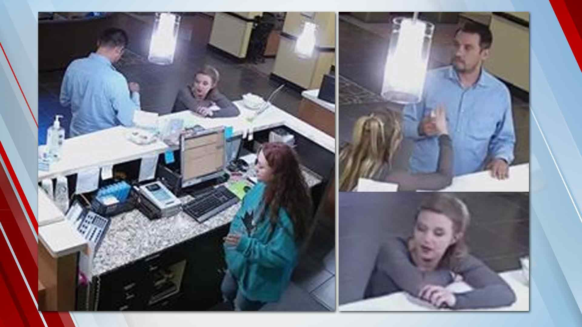 Catoosa Police Search For Credit Card Theft Suspects