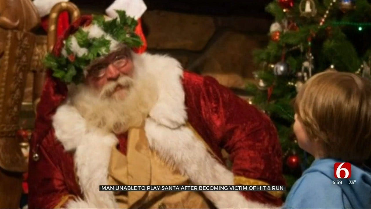 Muskogee 'Santa' Injured By Hit-And-Run Driver