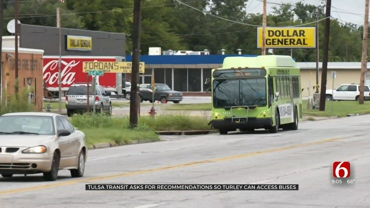 Tulsa Transit Holds Meeting To Discuss Turley Service