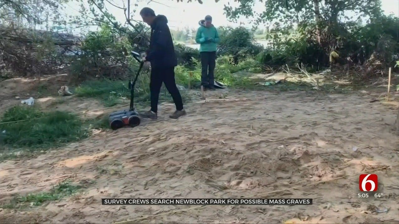 Archaeologists Begin Searching Newblock Park for Possible Mass Graves