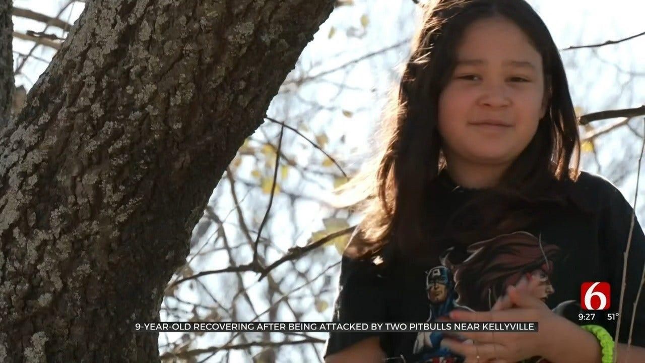 9-Year-Old Oklahoma Girl Recovering After Pit Bull Attack