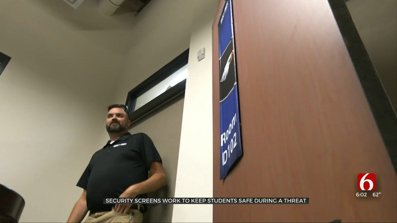 Security Screens Can Protect Oklahoma Students Against School Shooters