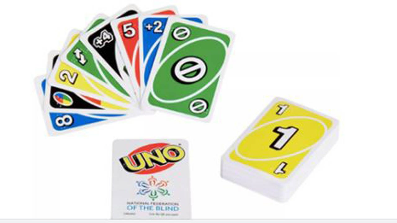Mattel Debuts First Official Braille Deck Of UNO Cards