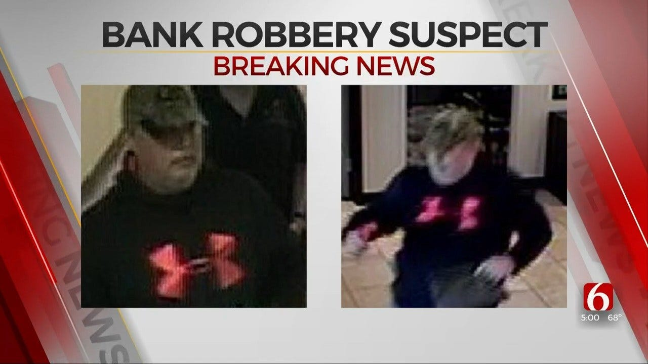 Police Identify Man Accused Of Robbing East Tulsa Bank With Flare Gun