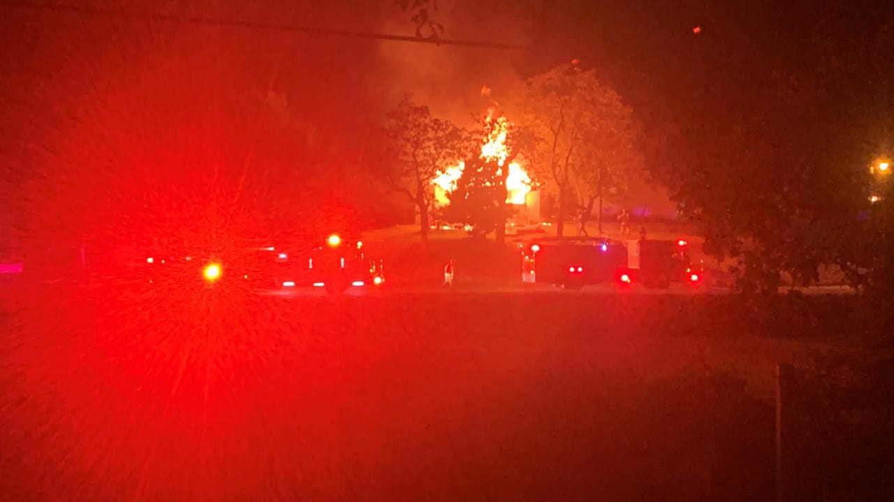 Sand Springs House Fire Claims Dog's Life