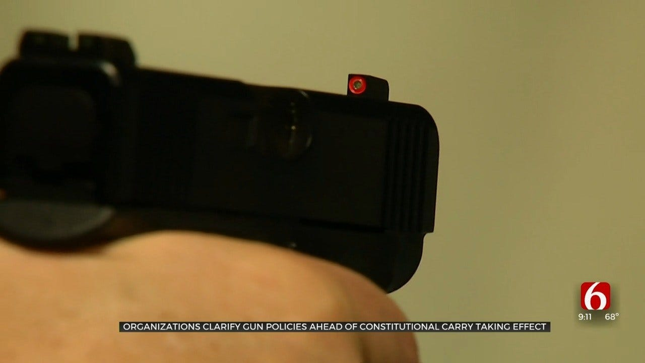 Tulsa Businesses State Their Stances As Constitutional Carry Approaches