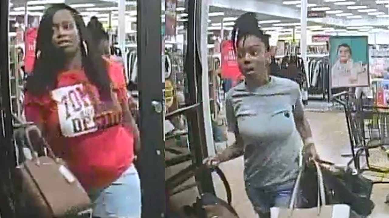 Tulsa Police Searching For 2 Women In Connection With Shoplifting