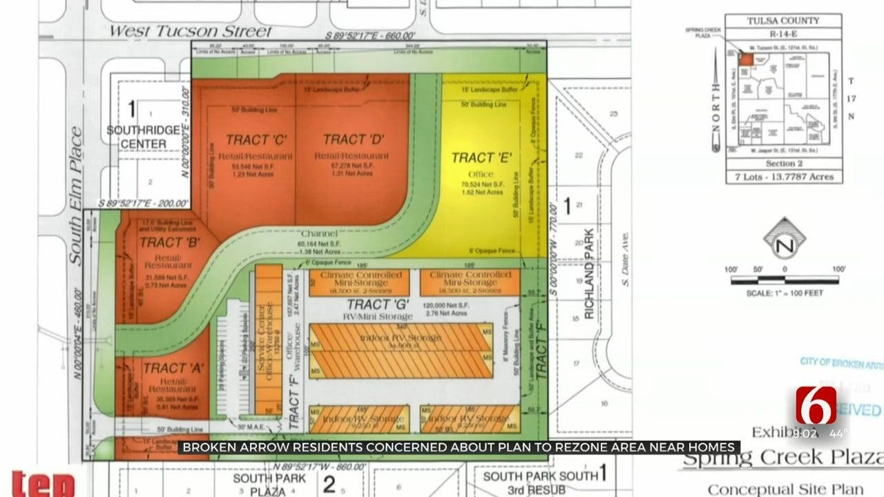 Broken Arrow Residents Concerned About Rezoned Area Near Homes