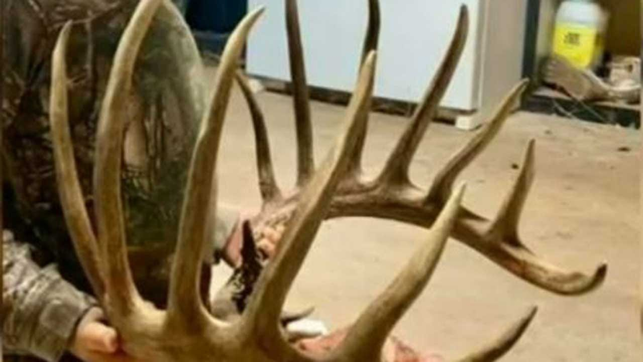 Oklahoma Teenager Harvests Possible State Record Whitetail