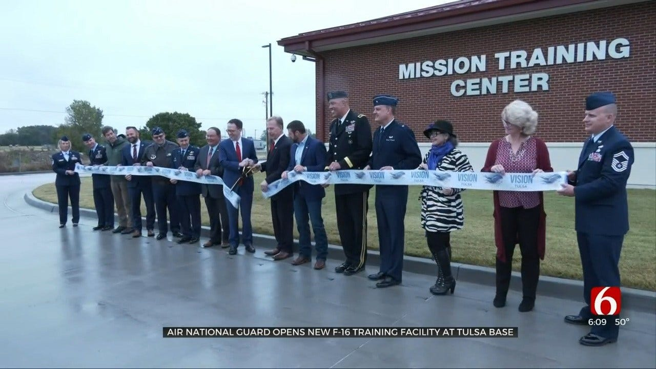 New $35 Million Training Building Complete At Tulsa Air National Guard Base