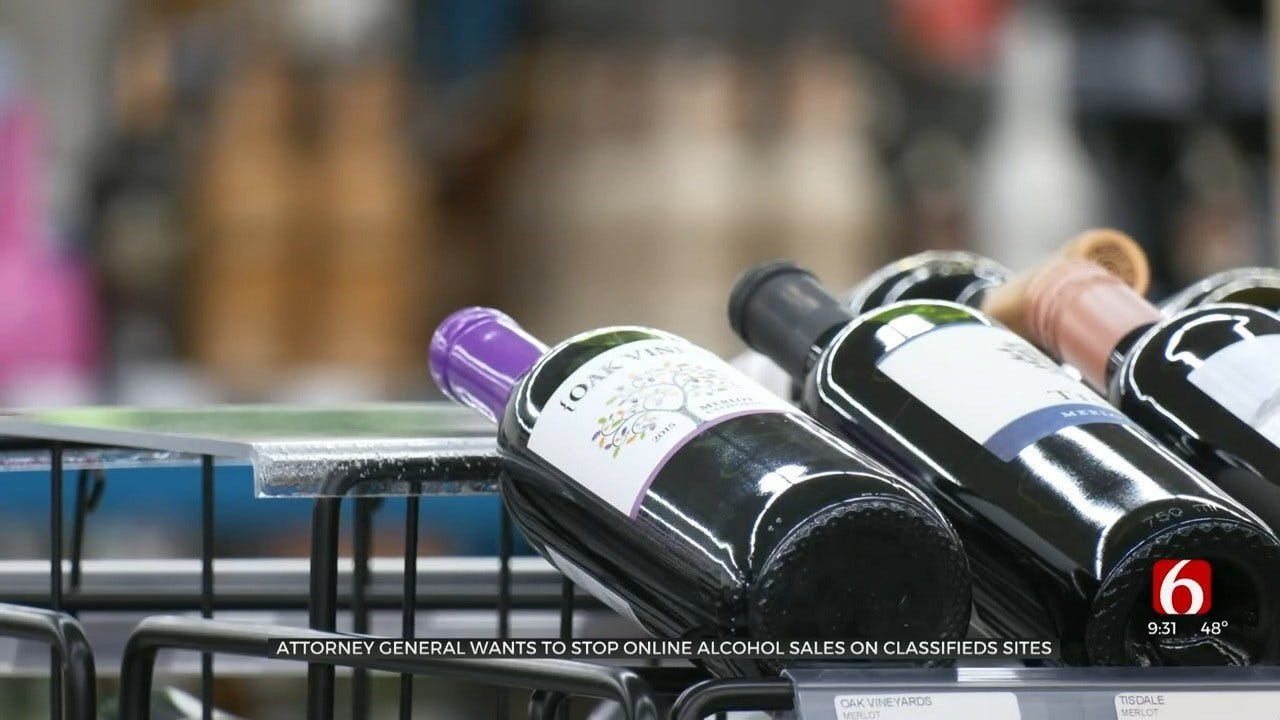 Oklahoma Attorney General Hoping To Stop Illegal Online Alcohol Sales