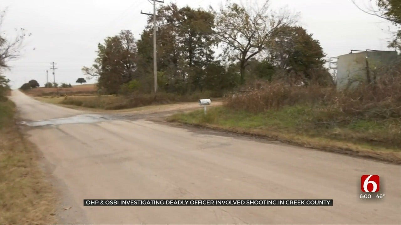 Creek County Neighbors Concerned After Deadly Officer-Involved Shooting