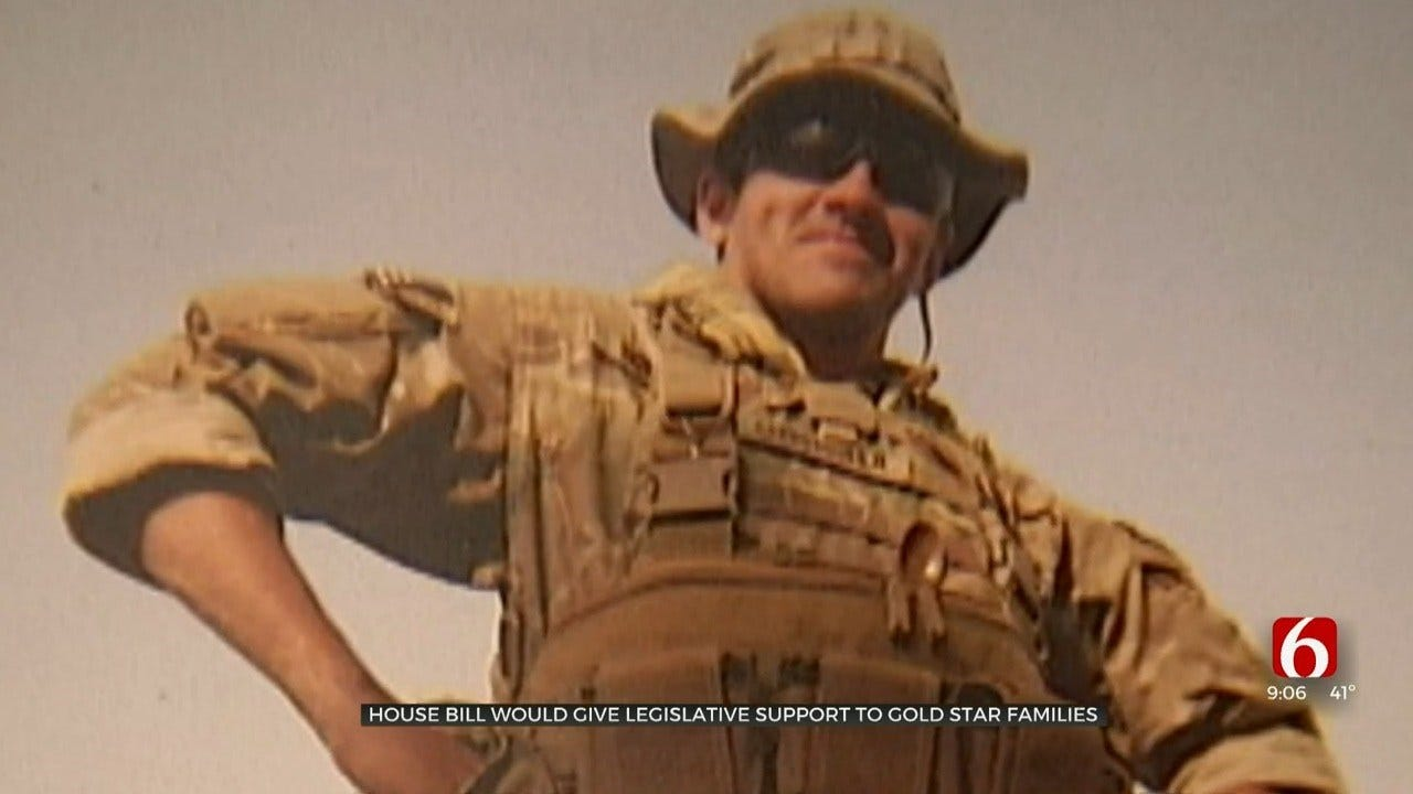 House Bill Would Give Legislative Support For Gold Star Families