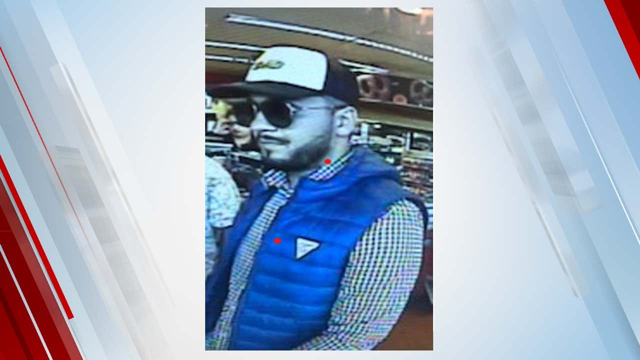 Tulsa Police Searching For Person Of Interest In Card Cloning Scam