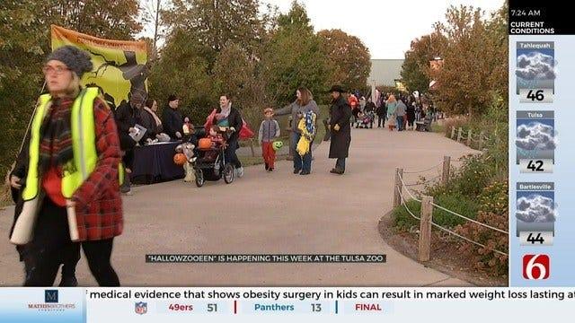 Tulsa Zoo Holds Annual HallowZOOeen