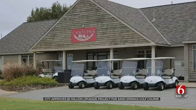 $2 Million In Improvements Planned For Sand Springs Golf Course