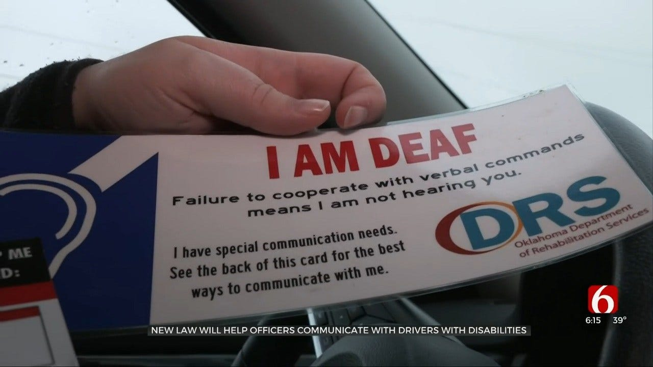 New House Bill Helps Disabled Oklahoma Drivers