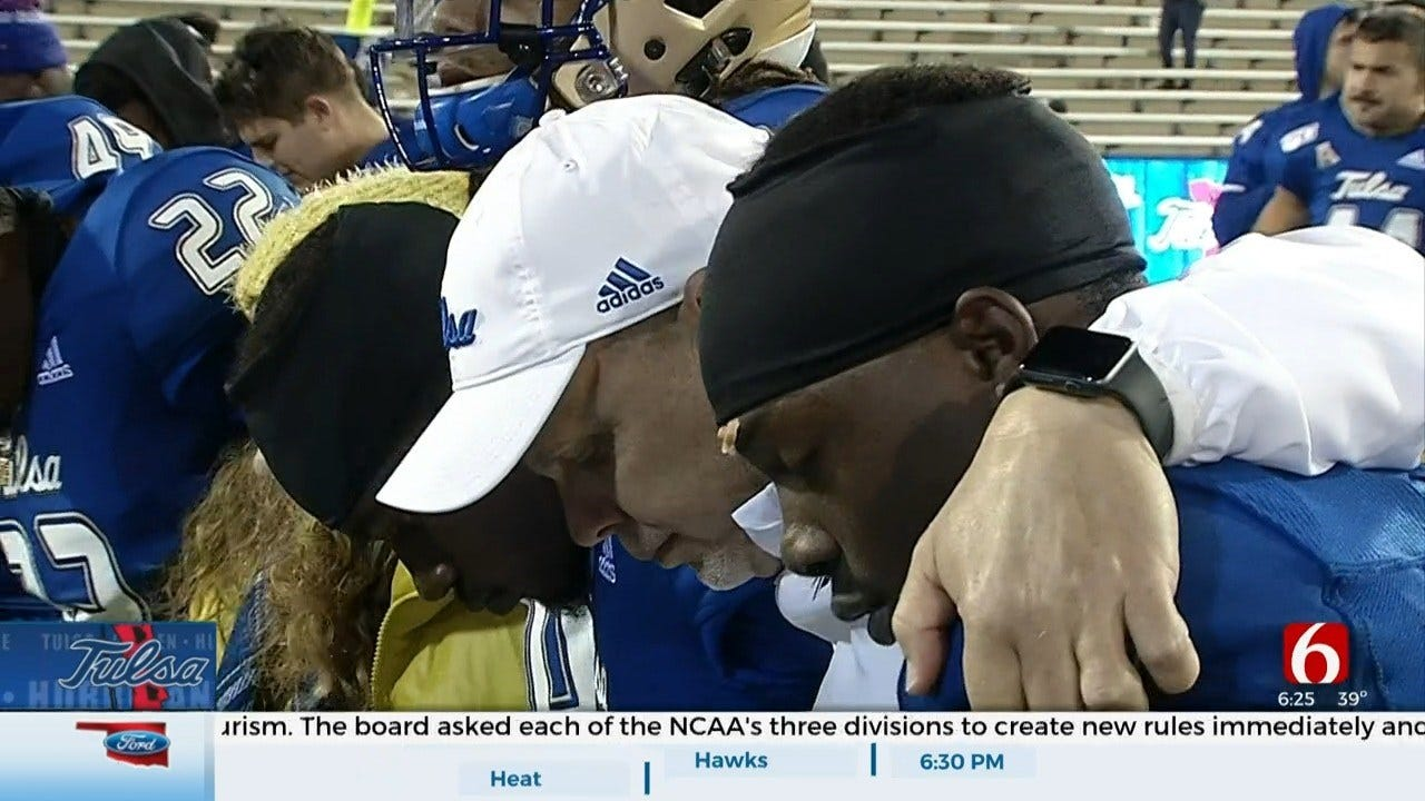 TU Trying To Recover After Three Conference Losses