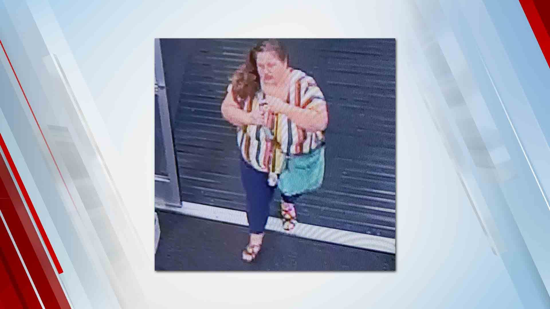 Woman Sought After Credit Cards Stolen From Tulsa Gym Locker