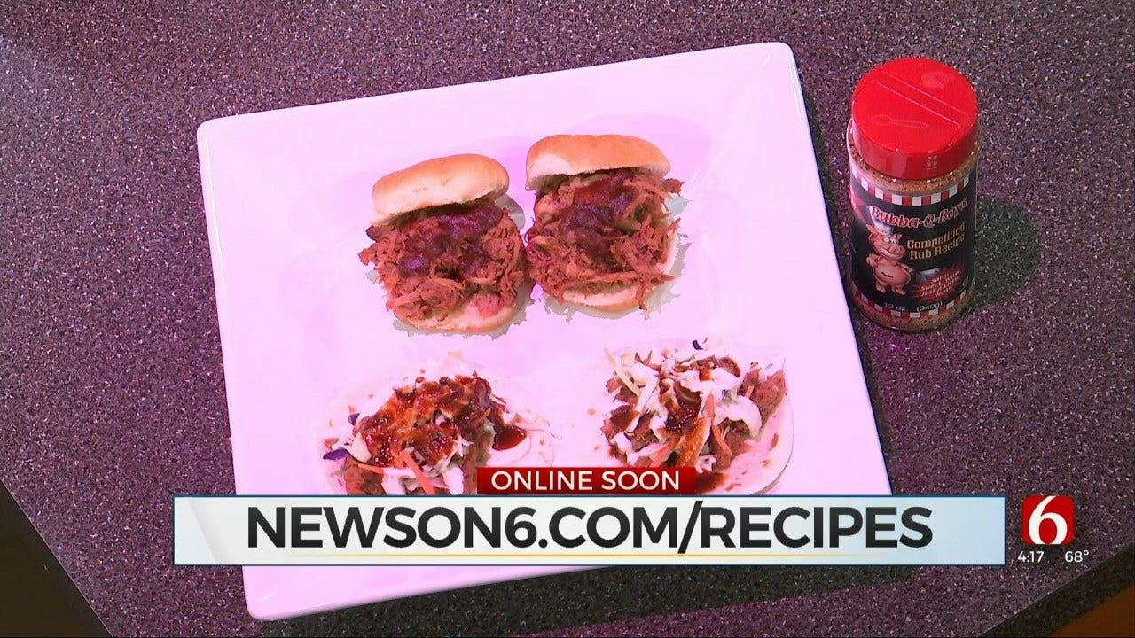 Bubba-Q's Pulled Pork Tacos & Sliders