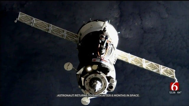 Three Space Station Fliers Return To Earth After Eventful Mission