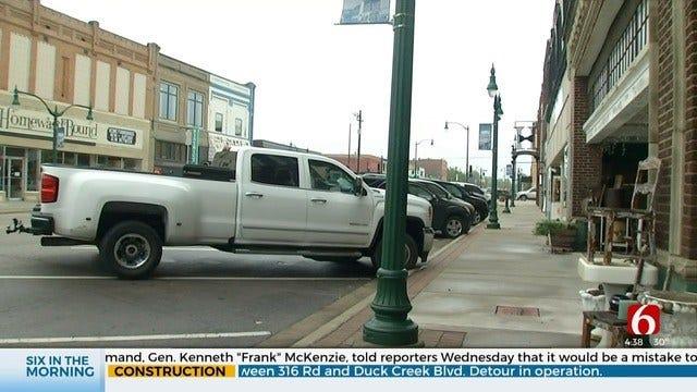 Claremore Begins Work To Make Downtown More Pedestrian Friendly