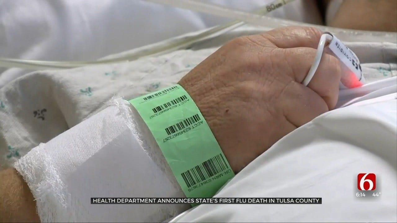 Oklahoma Reports 1st Seasonal Flu Death