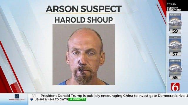 Tulsa Man Arrested On Suspension Of Arson