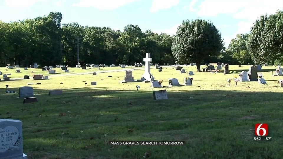 Crews Set To Begin Scans For Possible Mass Graves From 1921 Tulsa Race Massacre