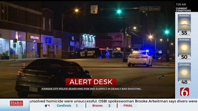 1 Suspect In Custody After Kansas Bar Shooting, Police Say