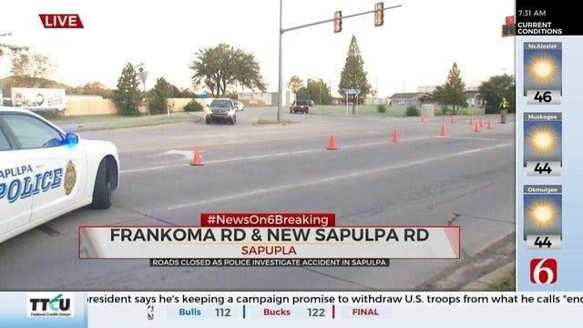 1 Dead After Sapulpa Crash Involving A Pedestrian