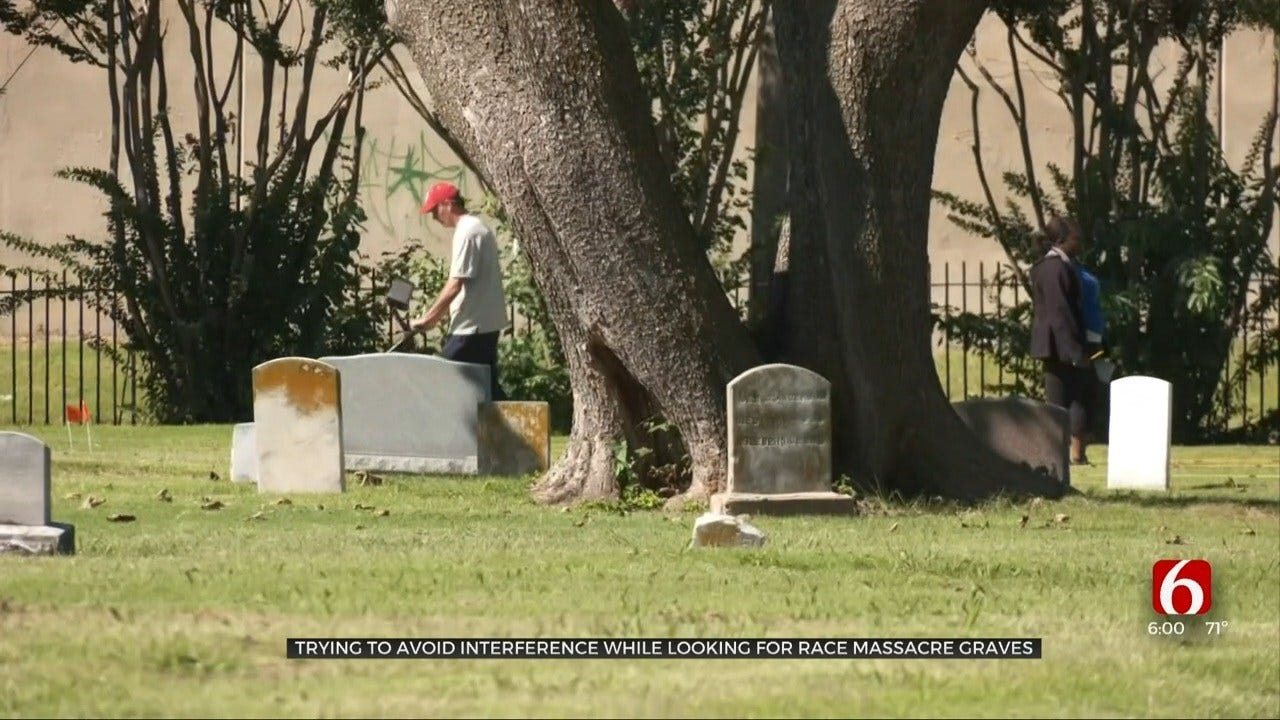 High-Tech Search For Mass Graves Requires Precautions