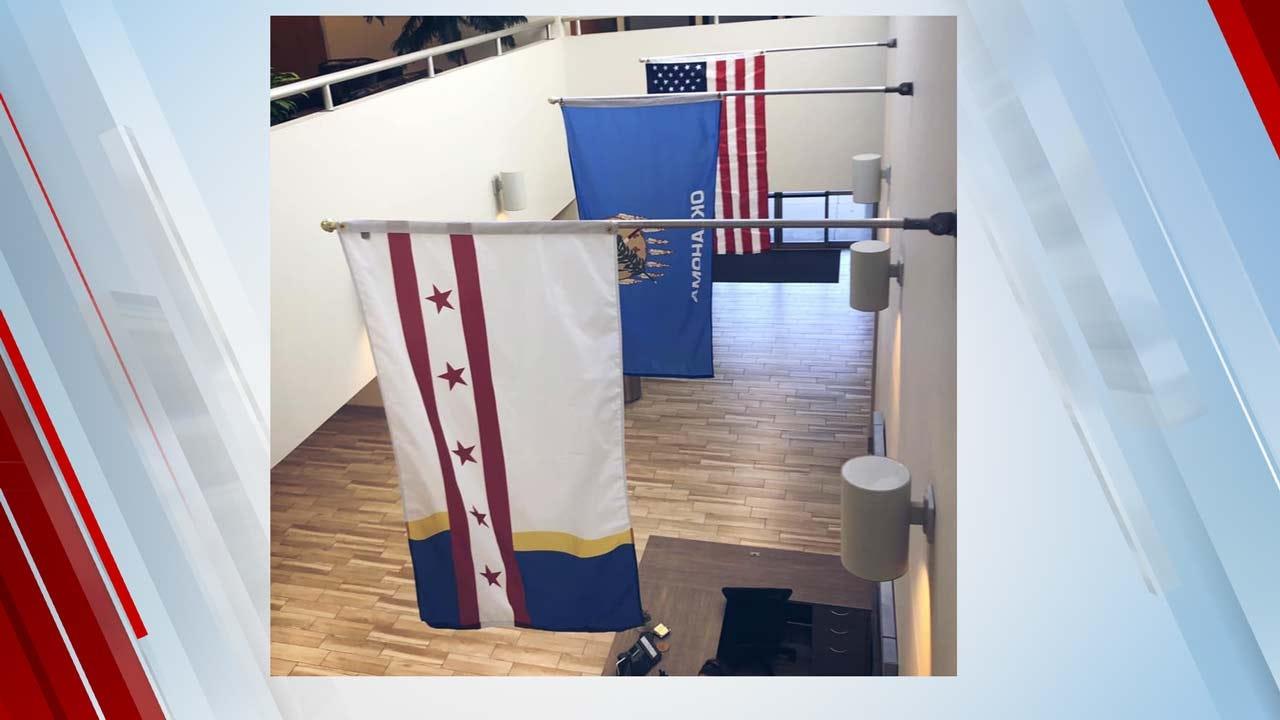 Jenks Unveils New City Flag Design